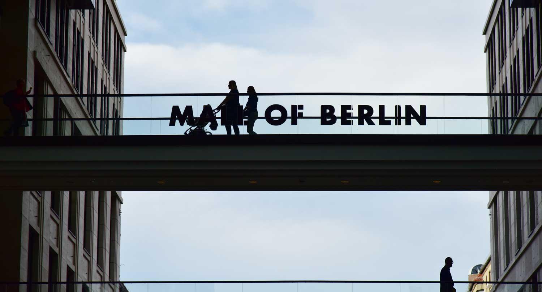 Der Leipziger Platz in Berlin